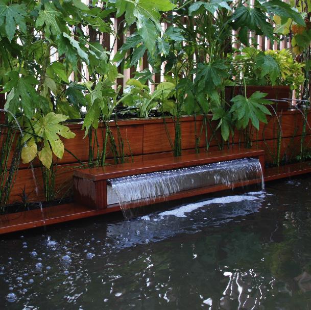 Cr ation de bassin et fontaine pour jardin et terrasse - Bassin fontaine pour terrasse colombes ...